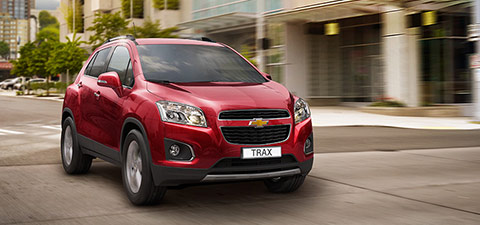 SUV et Crossover de Chevrolet France