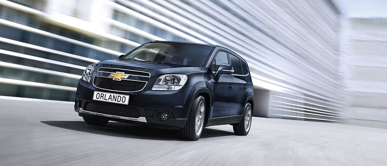 Chevrolet Orlando, crossover à 7 places